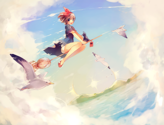 Kiki's Delivery Service by Pixiescout