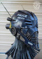 The Nexialist MkIII Police class helmet (98% done) by TwoHornsUnited
