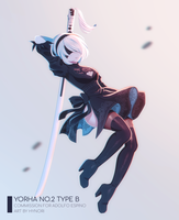 [C] YoRHa No.2 Type B by hynorin