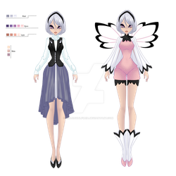 [ADOPTABLE AUCTION] Monochrome Pink [SOLD] by KillerGirlFuria