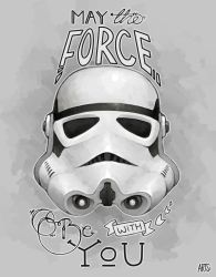 May the Force be with You by Mannylinn
