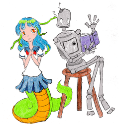 SNAFUcon mascots by cupcakedoll