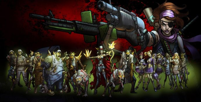 POKER HEROES: Zombies-'cause of course Zombies... by billydallaspatton