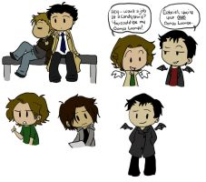 SPN-- Sketches by KaruLeonnese