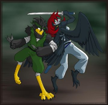 Sparring - Trade w Shadowspark by astercrow