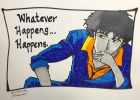 Spike from Cowboy Bebop by Lathminster