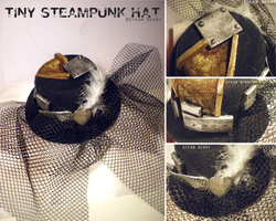 Tiny Steampunk Hat by SteamBerry