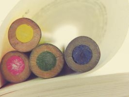 ColorfulCrayons by Manett-art