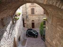 Assisi arch car by bobswin