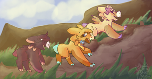 Off We Go! by Ashiirr