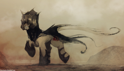 My Little Mouth of Sauron by FoxInShadow