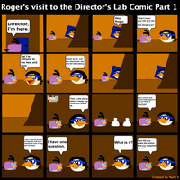 Roger's visit to the Director's Lab Comic Part 1 by Mario1998