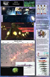 D: March 2015, Space Battleship Yamato 2199 fan by TorinZece