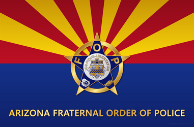 Arizona State Flag - FOP by tempest790