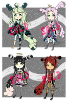 Nerugii Adoptables Auction (CLOSED) by jellificationAdopts