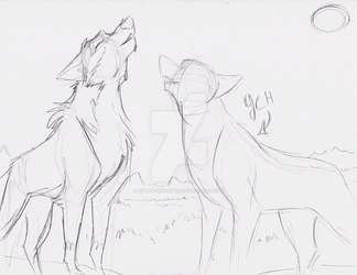Balto YCH Sketch by Stray-Sketches