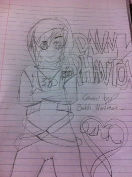 Danny Phantom (Sketch) by MusicLover135