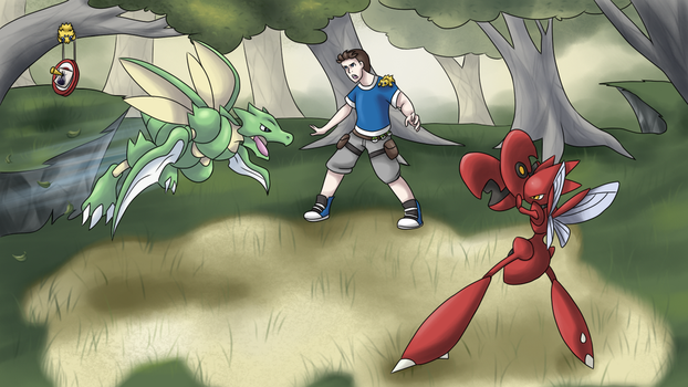 Bug gym leader: Nestfloh by Nojiko444