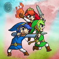 The Legend of Zelda: Tri Force Heroes by Il-Piccolo-Torero