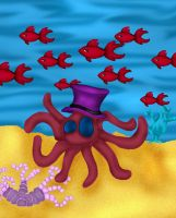 Tentacles and a Top Hat by amara1679