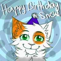 Happy Birthday Snew! by iWolfieChan