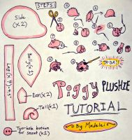 Piggy Plushie Tutorial by Madelei