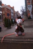 Basil the rat by Victoria-Poloniae