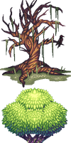 Pixel Trees by AmandaKieferArt
