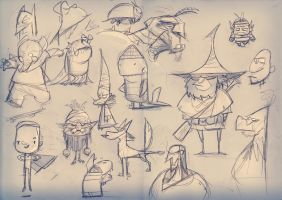 Daily doodles 30.09.14 by Gilmec