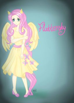 Fluttershy by Ethereal-Asphixia