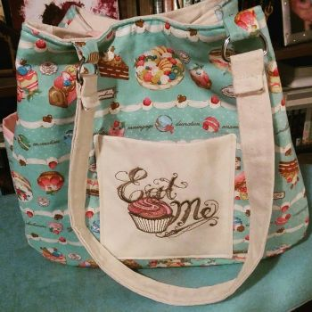 Fancy Cakes shoulder bag by MechanicalApple