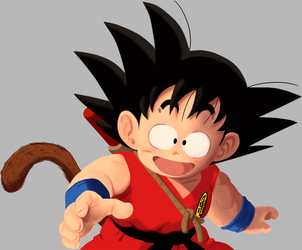 KID GOKU by salvamakoto