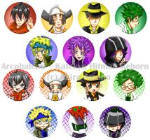 Buttons :: Arcobaleo by khiro