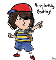 Geoffrey as Ness by Sylverstone14
