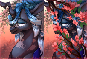Hidden Beauty [Collab] by Chirpy-chi