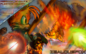 The Fox of Vigor - Miles Prower - Alias Tails by ZentrixStudios