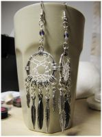 Feathered Dream - earrings by SaQe