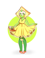 Flower girl - Peridot by FafaMeow