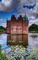 One castle - many moods - Egeskov castle, Denmark by aglezerman
