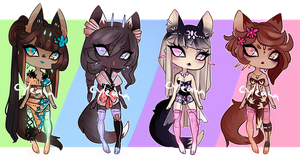 SP Gleamstic: Fox Ladies! [CLOSED] by Cyleana