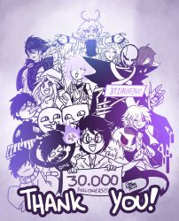 30K Followers on Tumblr! by JakeiArtwork