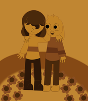 Humans and Monsters-Undertale's Second Anniversary by Swirlpuffy