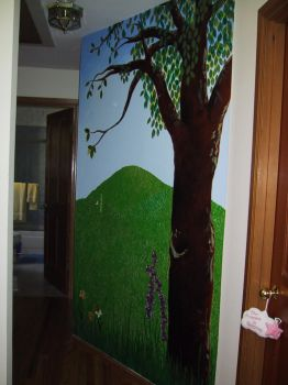 tree mural by remedios