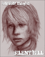 SILENT HILL::Heather Sketch by ffSade