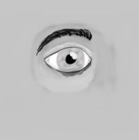 Eye + MyPaint Exercise by Songwind