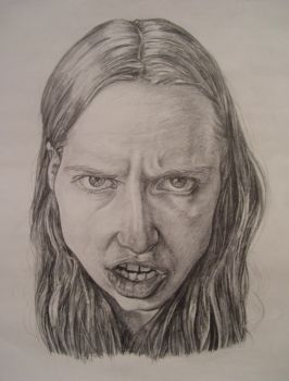Caricature Self-Portrait by ruthless05