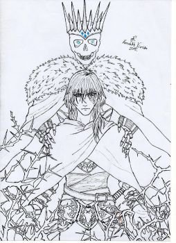 King of Thorns - Jorg and Dead King by Aucifer666