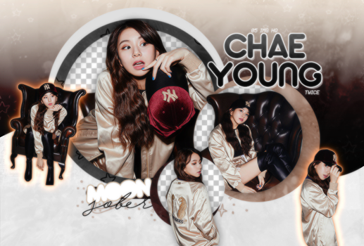 CHAEYOUNG//TWICE (MLB-BE MAJOR)-PNGPACK#1 by MoonSober