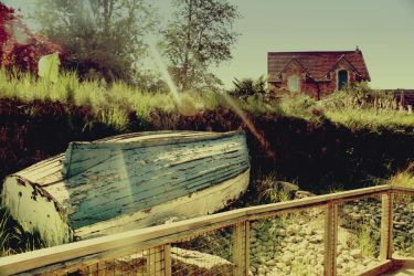The Boat House by Toodleena
