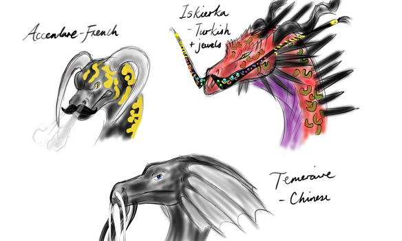 If Dragons Had Fabulous Moustaches by dragonofdivinewind